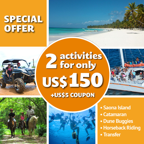 Punta Cana Daily - Special Offers - featured -2 Activities for US$150